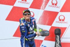 Valentino Rossi MotoGP Sachsenring 2018 podio