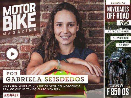 Gabriela SeisdedosPortada Motorbike Magazine 44Agosto 2018