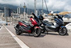 Honda Forza 300 2019 pruebaMBK45