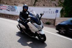 Honda Forza 300 2019 pruebaMBK66