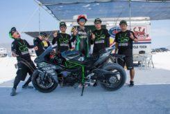 Kawasaki Ninja H2 record Bonneville 2018 04