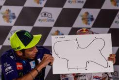 Rueda prensa MotoGP Austria 2018 Dibujo circuitos 10