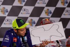 Rueda prensa MotoGP Austria 2018 Dibujo circuitos 11