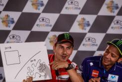 Rueda prensa MotoGP Austria 2018 Dibujo circuitos 13