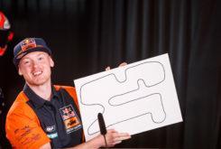 Rueda prensa MotoGP Austria 2018 Dibujo circuitos 4