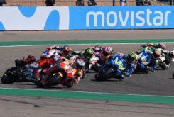 GP Aragon 2018 Lorenzo caida 1