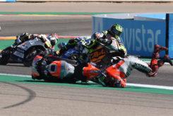 GP Aragon 2018 Lorenzo caida 3
