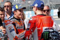 MBK Marc Marquez Jorge Lorenzo MotoGP Aragon 2018