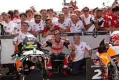 MBK Marc Marquez podio MotoGP Misano 2018