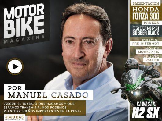 Portada Motorbike Magazine 45 Por Manuel Casado