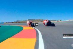 Salida MotoGP Aragon 2018