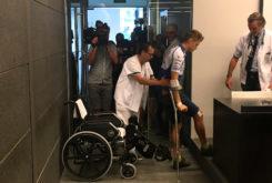 Tito Rabat lesion rueda prensa