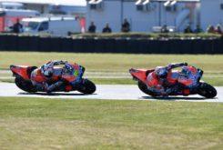 Andrea Dovizioso Alvaro Bautista MotoGP Australia 2018