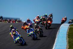 Andrea Iannone MotoGP Australia 2018 podio 3