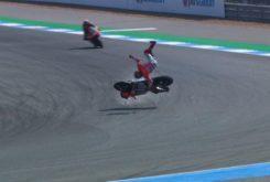 Caida Jorge Lorenzo MotoGP Tailandia 2018