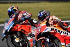 MBK Andrea Dovizioso Marc Marquez MotoGP 2018