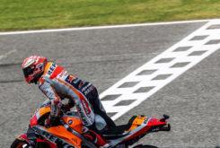 MBK Marc Marquez celebracion MotoGP Tailandia 2018