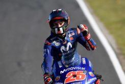 Maverick Vinales victoria MotoGP Australia 2018 1