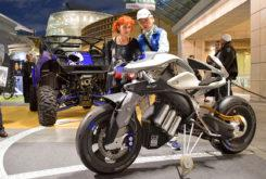 Yamaha MOTOROiD design exhibition 03