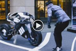 Yamaha MOTOROiD design exhibition video