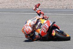 Caida Marc Marquez MotoGP 2018