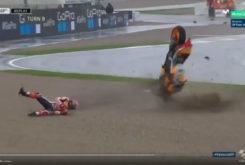 Caida Marc Marquez MotoGP 2018 Valencia 06