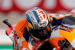 Dani Pedrosa casco MotoGP Valencia 2018