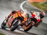 Pol Espargaro Dani Pedrosa MotoGP