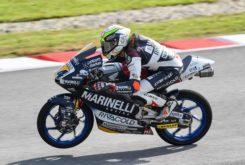 Tony Arbolino pole Moto3 Valencia 2018