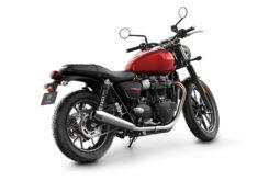 Triumph Street Twin 2019 studio Korosi Red rear