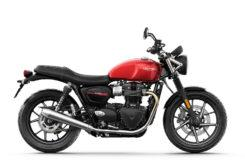 Triumph Street Twin 2019 studio Korosi Red right