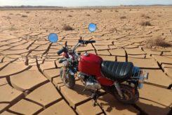 Moroccan MonkeyOctober 2018Wow, some of those cracks almost look big enough for a monkey bike wheel to fit right into.