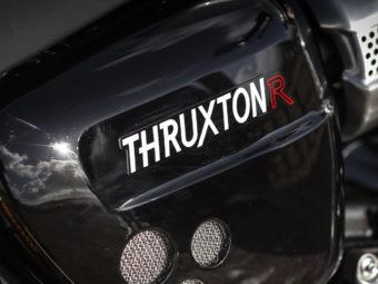 Triumph Thruxton R logo