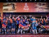 Clasificacion Dakar 2019 motos