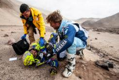 Lorenzo Santolino Dakar 2019 accidente 01