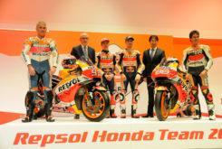 Presentacion Repsol Honda MotoGP 2019 Marquez Lorenzo6