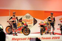 Presentacion Repsol Honda MotoGP 2019 Marquez Lorenzo8