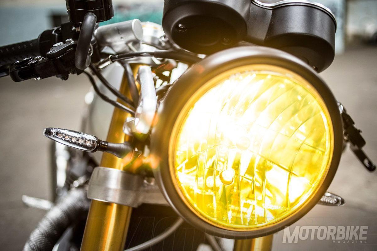 Triumph Thruxton R TFC Belstaff David Beckam 03
