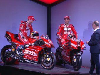 ducati motogp 2019 presentacion 2