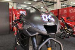 Alerones Ducati MotoGP 2019 Test Sepang