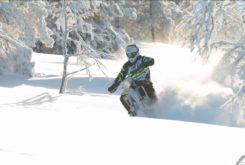 Husqvarna Enduro Snow FXR nieve moto 4
