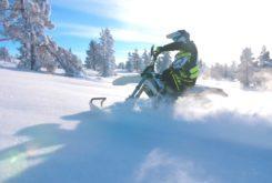 Husqvarna Enduro Snow FXR nieve moto 9