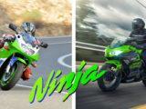 Kawasaki ZXR400 Kawasaki Ninja 400 comparativa