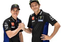 Maverick Vinales Valentino Rossi Yamaha MotoGP 2019 (2)