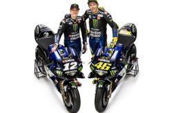Maverick Vinales Valentino Rossi Yamaha MotoGP 2019 (7)