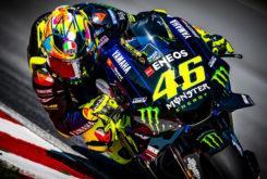 Valentino Rossi casco Test Sepang MotoGP 2019