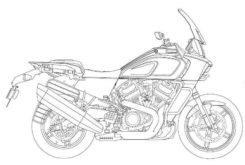 harley davidson pan america 1250 2020 bikeleaks