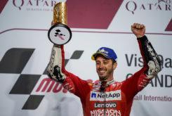 Andrea Dovizioso GP Qatar 2019 MotoGP victoria