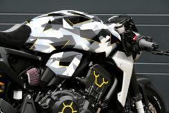Honda CB1000R adical Cafe Racer Preparacion Fuhrer Moto camo