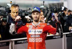 MBKAndrea Dovizioso GP Qatar 2019 victoria MotoGP